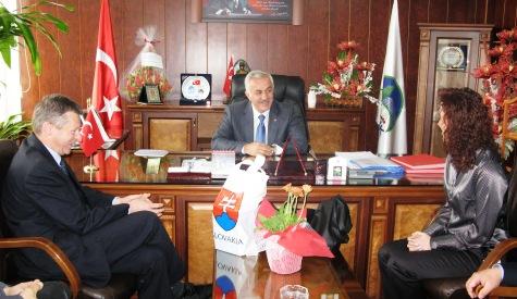 Vladimir Jakabcinden Başkan Özdene Ziyaret