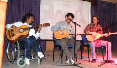 Halk Eğitim Merkezinde Gitar Kursu Sertifika Töreni
