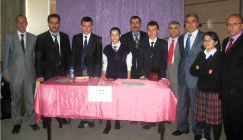 Çubukta Liseler Ararsı AB Bilgi yarışması yapıldı