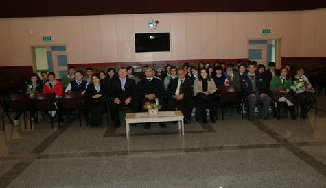 Çubuk Anadolu Lisesinden Gazilere Anlamlı Ziyaret