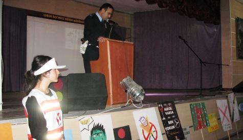 Çubuk'ta Trafik Haftası Çeşitli Etkinliklerle Kutlandı
