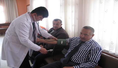 Çubuk Belediyesi Personeli Sağlık Taramasından Geçirildi
