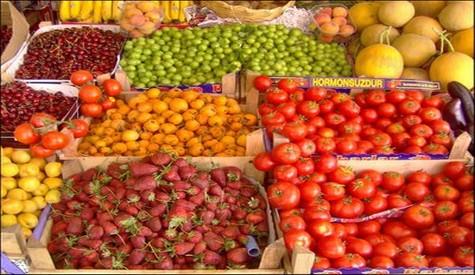 Yağışlarla Gelen Meyve Ve Sebze Bereketi