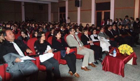 Çubukta ÖSYMye katılacak Öğrencilere konferan Verildi