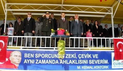19 Mayıs Gençlik ve Spor Bayramı kutlandı