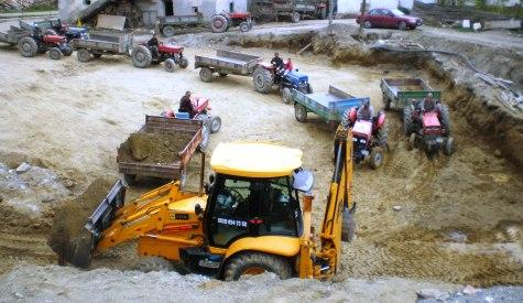 Kuruçay Köyü Camii İnşaatına başlanıldı