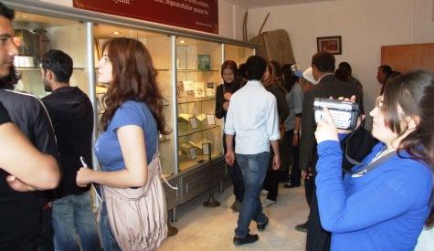 Çubukun İlk Köy Müzesine Öğrenci Akını