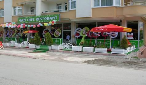 Gazi Cafe Restaurant Açıldı