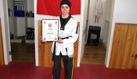 Türkiyenin İlk Bayan Hapkido Hakemi Raziye Akgül