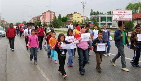 Aile Yaşam Merkezinden Fetih Yürüyüşü