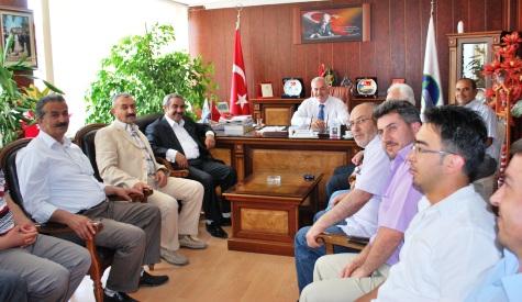 BBP İl Başkanı Bozoktan Başkan Özdene Ziyaret