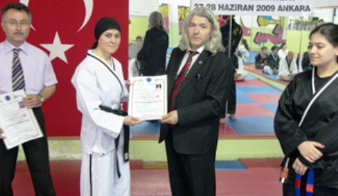 Türkiyenin İlk Hapkido Hakemi Diplomasını aldı