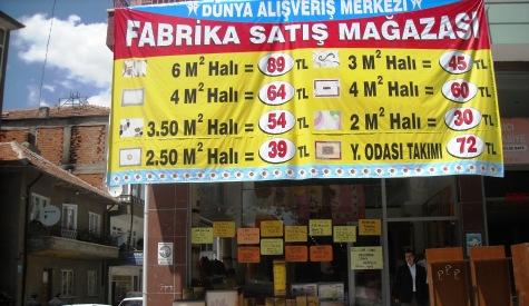Halıda Şok Fiyat 6m2 Halı 89.00 TL