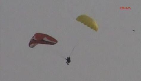 Fethiyede Paraşüt Kazası