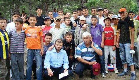 Yaz Kuran Kursu Öğrencileri Piknikte Buluştu