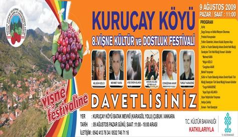 Kuruçay Köyü Derneği Başkanlığından Festivale Davet