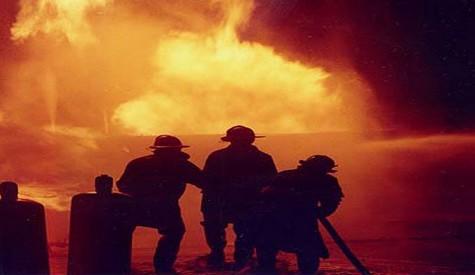 Hacılar Köyünde Yangın