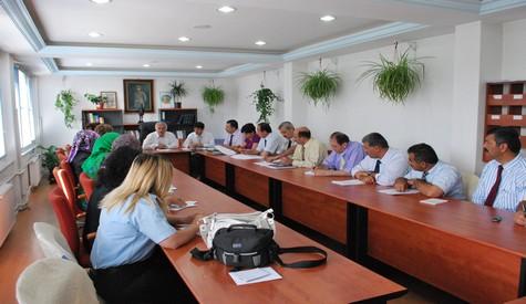 Uluslararası Çubuk Turşu Ve Kültür Festivali Komitesi Toplandı