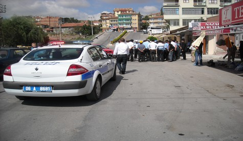 Terminal Önünde Kaza