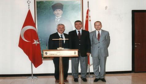 Başkan Özden'den  İl Emniyet Müdürü Orhan Özdemir'e Ziyaret