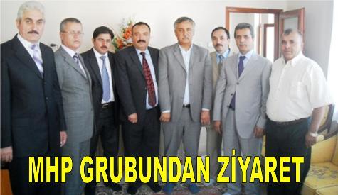 Mhp Grubundan Gazetemize Ziyaret