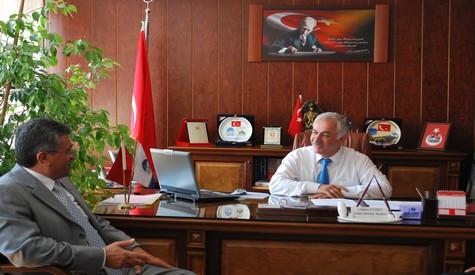 İl Emniyet Müdürü Orhan Özdemirden Ziyaret
