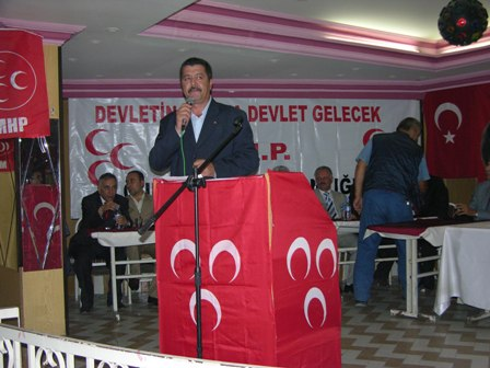 MHP İSTİŞARE TOPLANTISI YAPILDI.