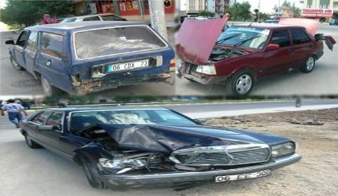 Ankara Bulvarında Kaza