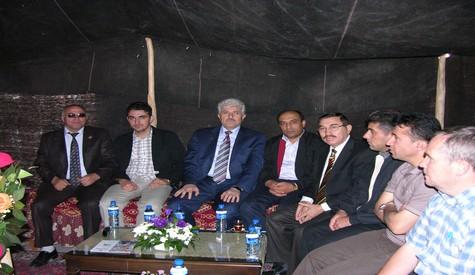 Kuzey Iraktan Festivale Ziyaret