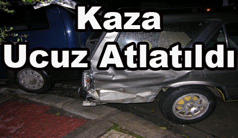 Atatürk Caddesinde Kaza...