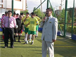 Halı Saha Futbol Turnuvası Başladı