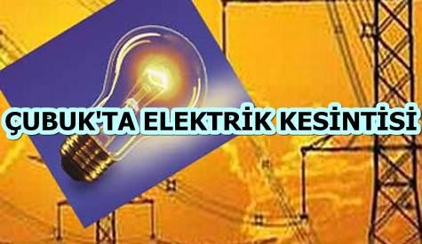 Çubukta Elektirik Kesintisi