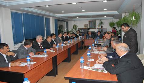 Belediye 2010 Yılı İlk Meclis Toplantısını Yaptı