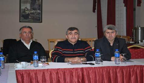 Türkiye Eskrim Federasyonu Olimpik Sporcu Yetiştirme Toplantısı Yapıldı