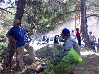 beşinci geleneksel yürüyüş şöleni yapıldı.