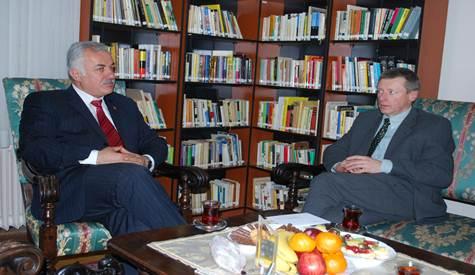 Özdenden Slovekya Büyükelçisi Jakabcine Ziyaret