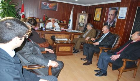 CHP İlçe Teşkilatından Özdene Ziyaret