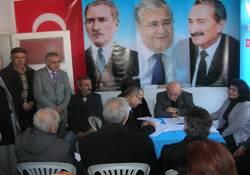 Çubuk'ta DSP Yine Aras Dedi