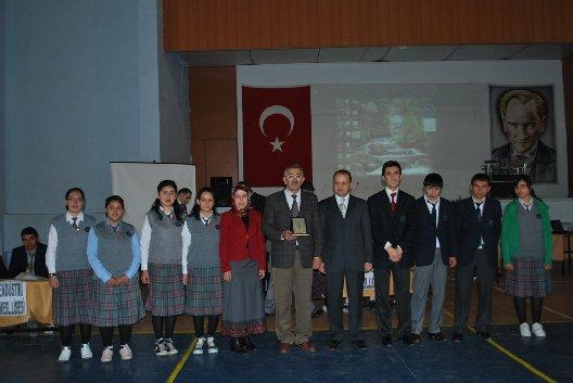 Okullar Arası Din ve Ahlak Bilgisi Yarışması Yapıldı