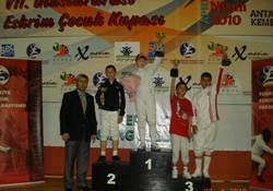 Eskrim Şampiyonasında Çubuk Başarısı