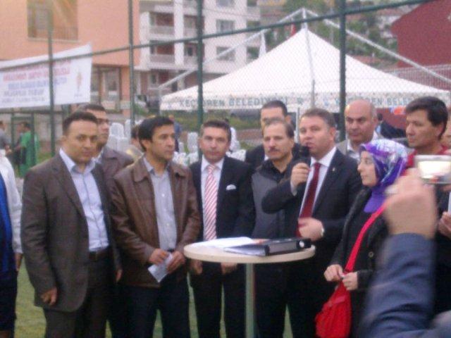 AKP İl Başkanlığı Turnuvası Başladı