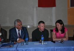 Jakabcin Kent Konseyi Toplantısına Katıldı