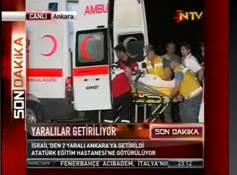Yaralılar Atatürk hastanesinde