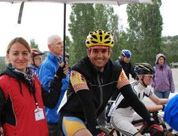 Bisikletçiler Çubuktan Seslerini Duyurdu
