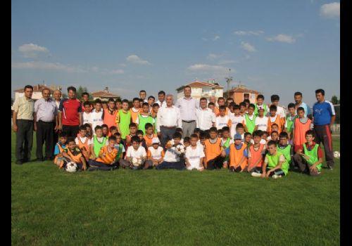 Özdenden Yaz Spor Okuluna Ziyaret