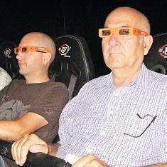 7 boyutlu sinema teknolojisi ürettiler