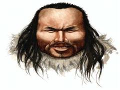 Saç telinden 4 bin yıllık portre