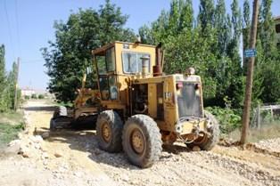 Yazıcıoğlu Mahallesinde Yol çalışmalarına Başlandı