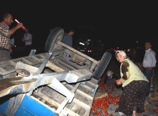Çubukta Trafik Kazası: 5 Yaralı