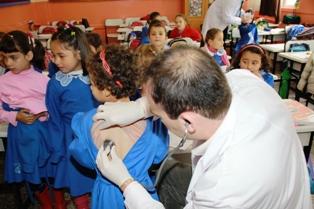 Belediyeden Okullara Kapsamlı Sağlık Taraması